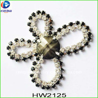 HW2125 renqing factory shoe collection butterfly dress shoes and matching bags decorations jewel