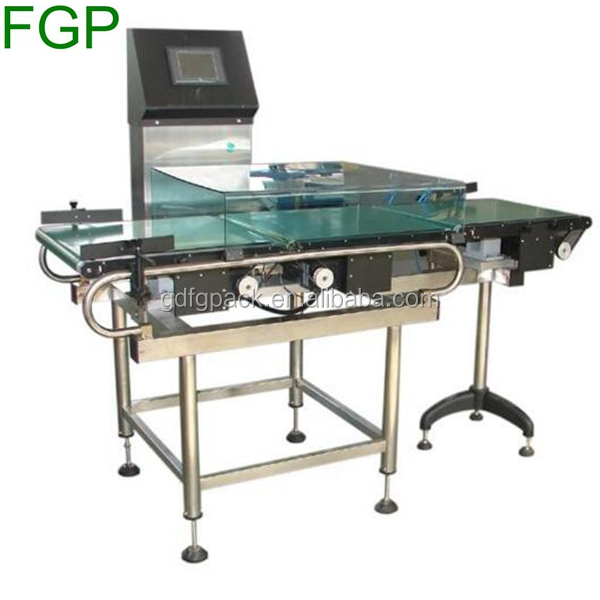 Frozen chicken wing/chicken feet/fish/sea food automatic check weight machine