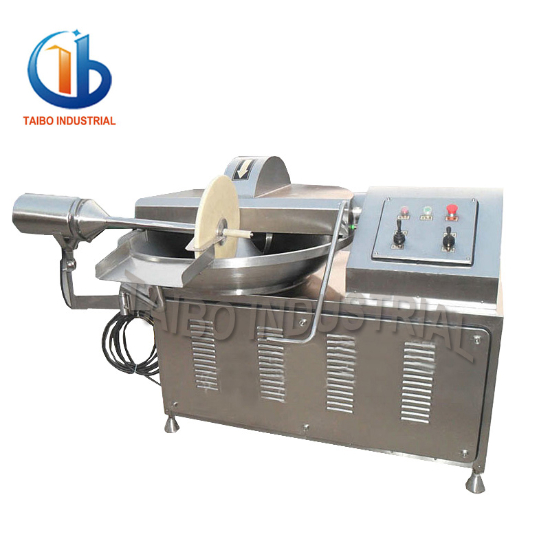 TZB40 industrial meat grinder machine blender mixer and meat grinder meat bowl cutter for mutton/beef/fish/chicken/duck