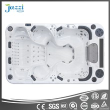 JAZZI European New Design Balboa Hot Tub Aristech Acrylics Hot Cinema Sex Massage Outdoor Spa for 8 Persons SKT339F