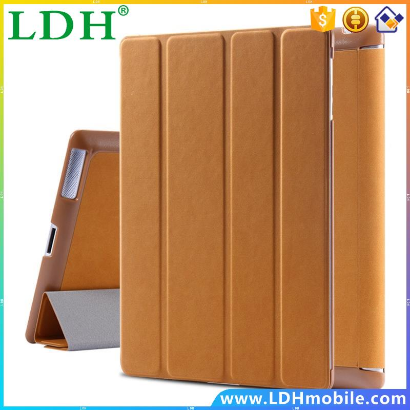 Deer Pattern Leather Case For iPad 2 3 4 Three Times Folded Stand Flip Cover for Apple iPad 2 3 4 Full Protective Tablets Shell