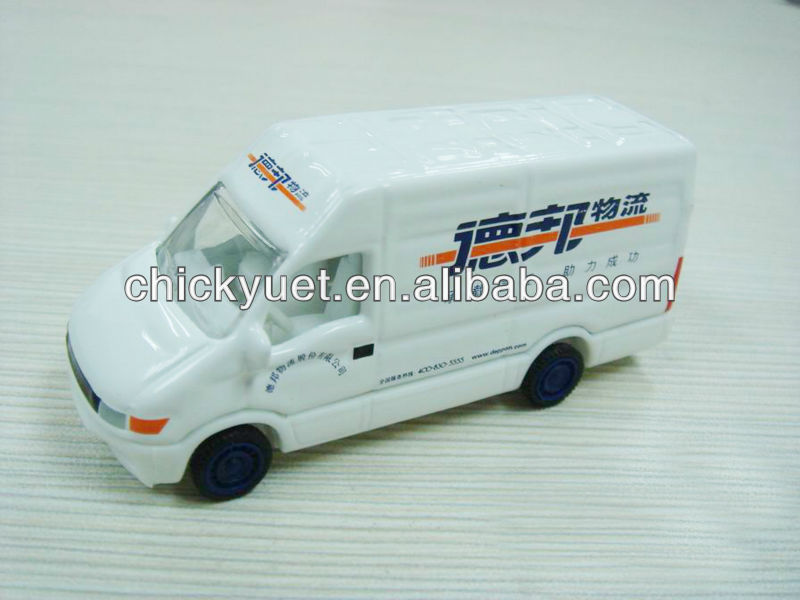 68MM die cast metal mini van replica