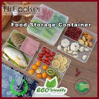 Storage Kitchen Organizer Plastic Meat Food Storage Containers Fresh Refrigerator Case Fresh Crisper Box Clear