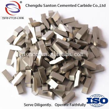 Tungsten Carbide YG6 saw teeth tips for cutting wood,aluminum