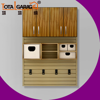 Wood Kitchen Wall Hanging Cabinet Simple Design