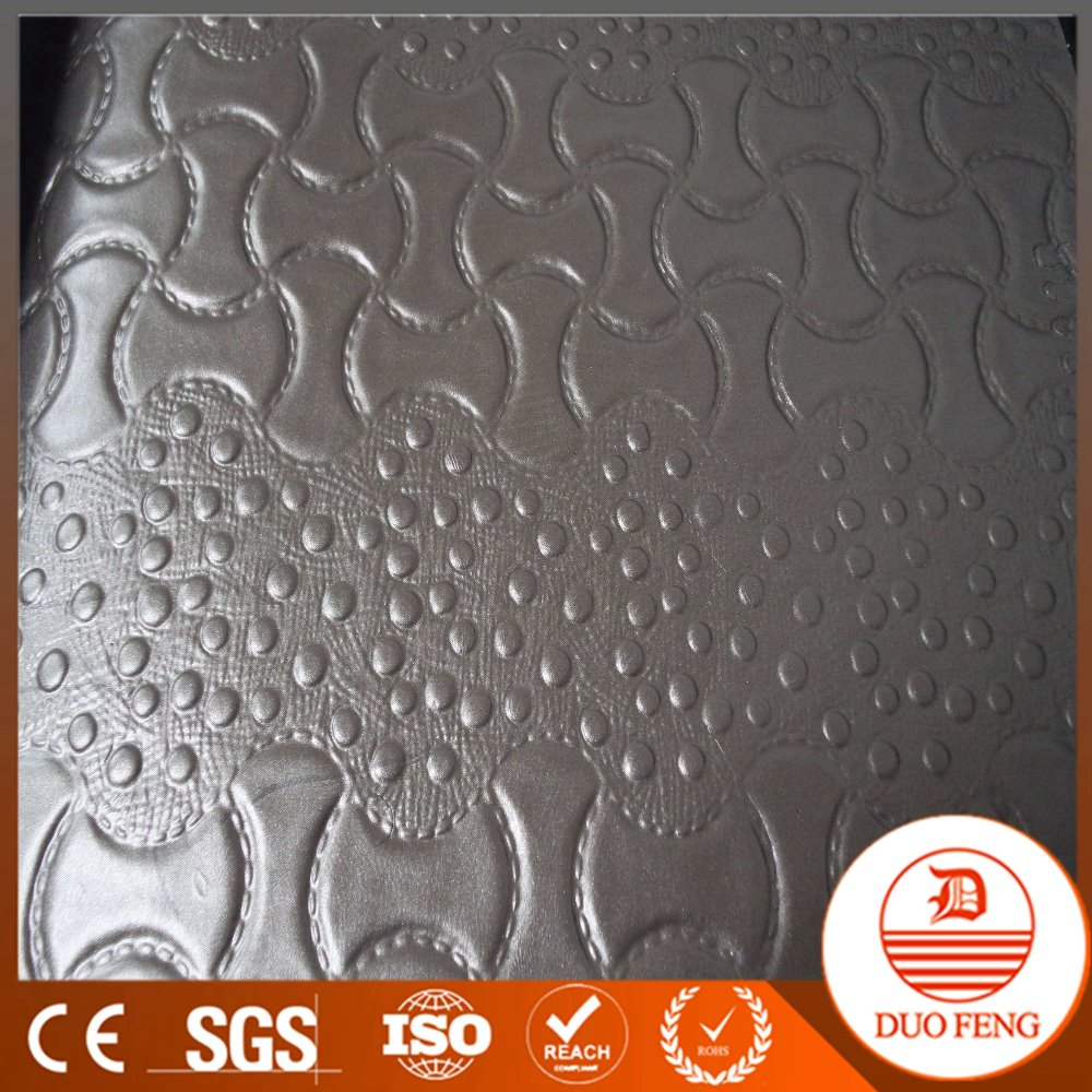 2016 newest PVC china leather,car seat leather ,sofa leather material 1.5mm