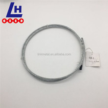 7*19 electro galvanized steel wire rope for crane