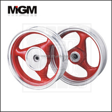 motorcycle alloy wheel for GY6 125