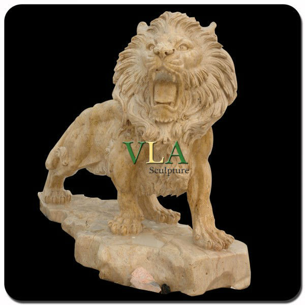 Gold Lion Manufacturers For Gate Garden Decoration VAS-B021C
