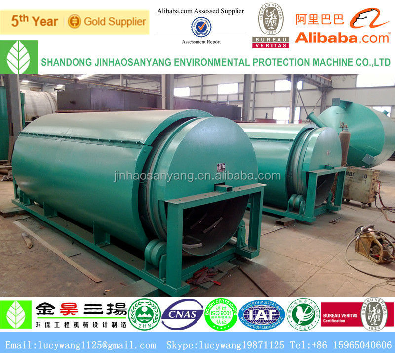 WN Rotating drum wastewater filtration machine for industrial sewage filter