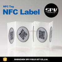 NFC HF 13.56MHz Tag Label Ntag 203 PET Printing Near Field Communication FIELD