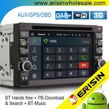 Erisin ES3646U 2 Din 7 inch Android 5.1 Car Multimedia System with GPS