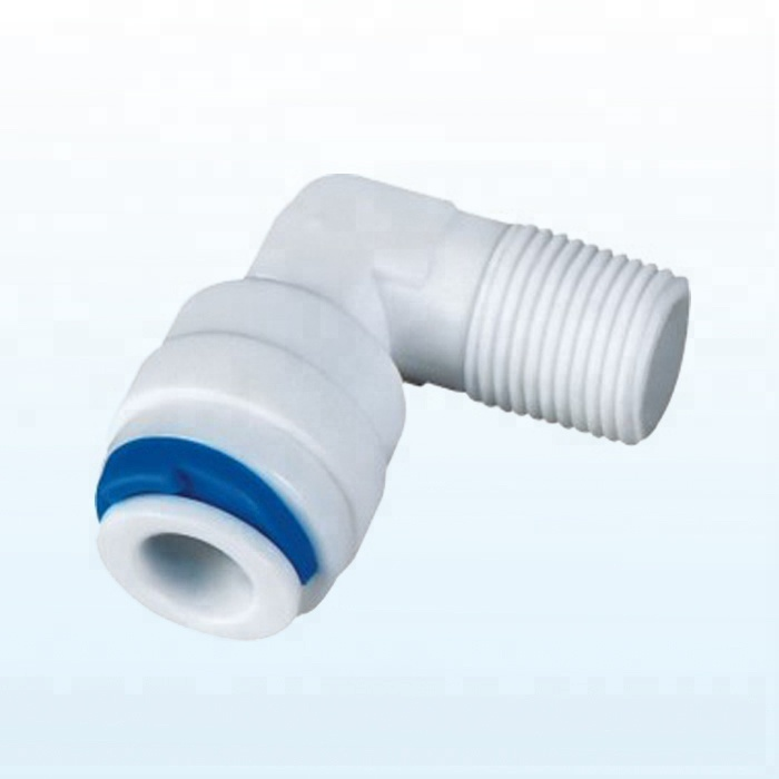 1/8 inch NPT Male Thread Elbow Plastic Quick Connect Pipe <strong>Fitting</strong>