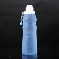 2016 Outdoor Portable Squeeze sports water bottle bpa free,silicone running water bottle