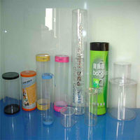 fashion plastic tube packaging,clear earphone packaging tube