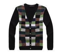 Raidy boer men's classic autumn&winter fine wool high quality cardigan , knitted sweater, knitwear