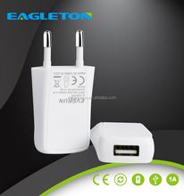 Factory mobile phone accessories 5V 1A usb wall charger consumer electronics for S7 Edge