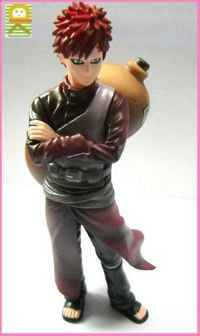 famous movie character Naruto plastic figurine toys for boys