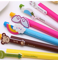 Wholesale Stock Small Order Rainbow Wings Multi-purpose Multicolor Cute Cartoon Character Ball-point Pen