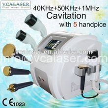 2017 40khz+50khz+1mhz Cavitation Slimming Device ultrasound device for home use multi machine