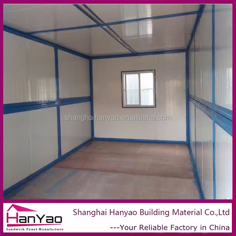Shipping Container Coffee Shop With Hydraulic System For Expandable Container House