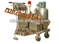 Cement pavement crack sealing machine
