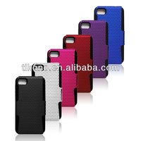 Durable colorful mesh double layer pc+tpu case for blackberry z10