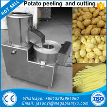 potato chips french fries washing peeling cutting machine/ potato chips french fries washer,peeler,cutter