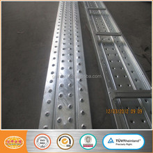 Steel plank / platform / metal decking / walk board for tube coupler scaffolding