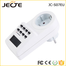 JECTE Manufacturer Offer High quality 230V EU electrical socket timer