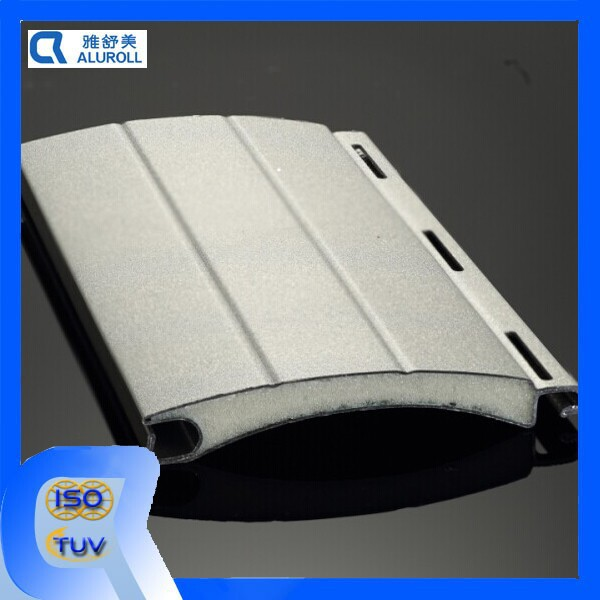 Popular aluminum Coated Foam Slat for rolling shuter