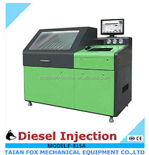 2016 hot sale F-815A Common Rail Pump Test Bench for diesel trucks