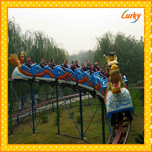 Cheapest roller coaster amusement park rides/Used games rides roller coaster with cheap price