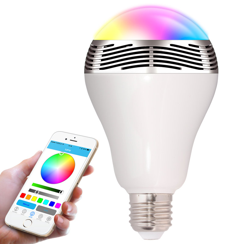 Manufacturer BL05 -Color Changing Bluetooth Magic Lighting APP Control led & music playback <strong>bulbs</strong>