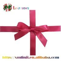 self adhesive satin ribbon bow for packing box gift wrapping box