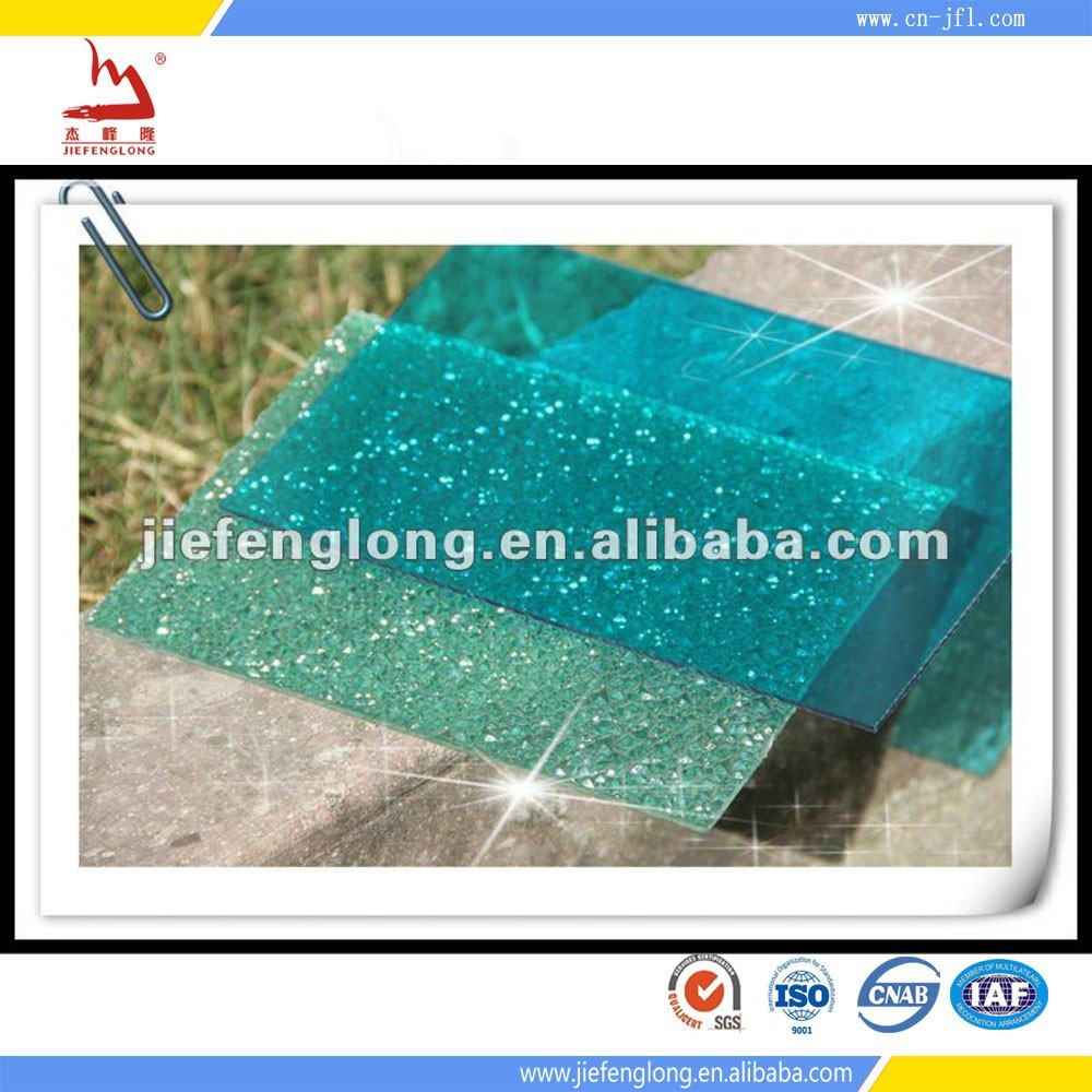 Top! Polycarbonate Sheet Small Texture Raindrop
