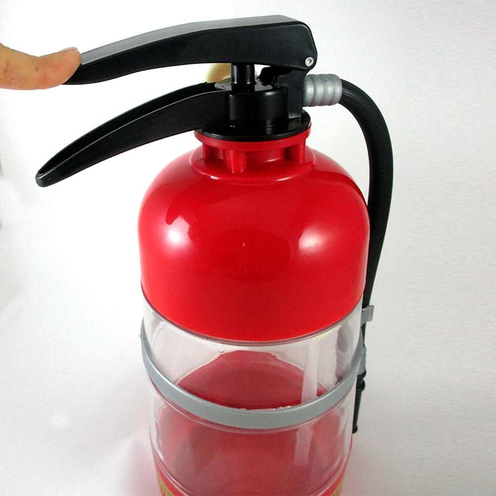 Novelty cup/Fire Extinguisher Shaped Cocktail Shaker/Drinking Games