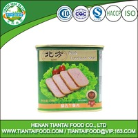 tulip canned pork meat pork luncheon meat salami