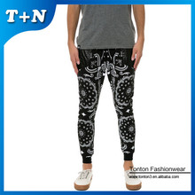 Wholesale ruffle women's jogger pants