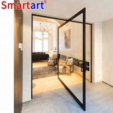 New coming Double Swing glass Door for house