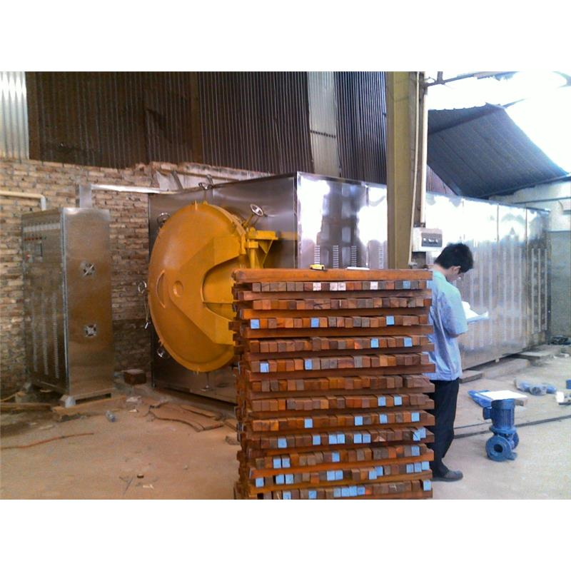 Industrial microwave vacuum dryer  dehydrator drying dehydration machine for wood log timber