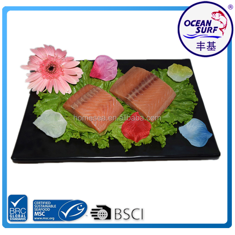 Frozen Pink Salmon Fillet Portions