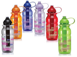 850ml Plastic Water Bottle with Cooling Tube
