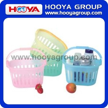 Plastic Basket With Single Handle