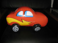 inflatable cartoon car model/pvc inflatable cartoon mini car replica/inflatable cartoon car toy for kids