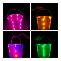 Monogrammed Personalized Light Up Halloween Bucket