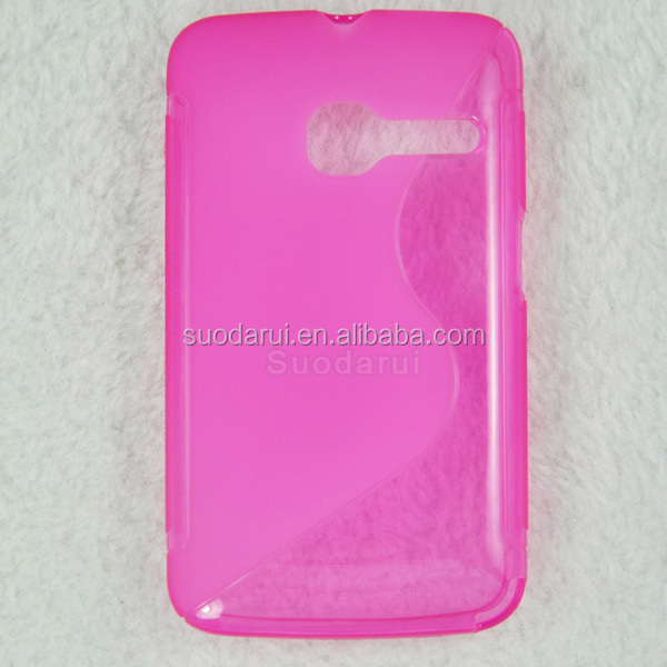 S Line TPU Gel Cover for Alcatel One Touch Tribe 3040 3040D OT-3040D Case
