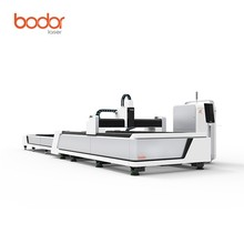 CNC fiber laser 500w-3000w cutting machine for stainless steel metal 4mm in China High speed and good quality