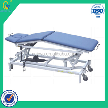 Physical Therapy Products Healthcare Electric Multi-Body-Positionable Therapeutic Machine Tool Massager Treatment Beds Adjust