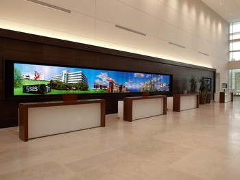 P5 indoor full color digital LED signage for ad info diffusion